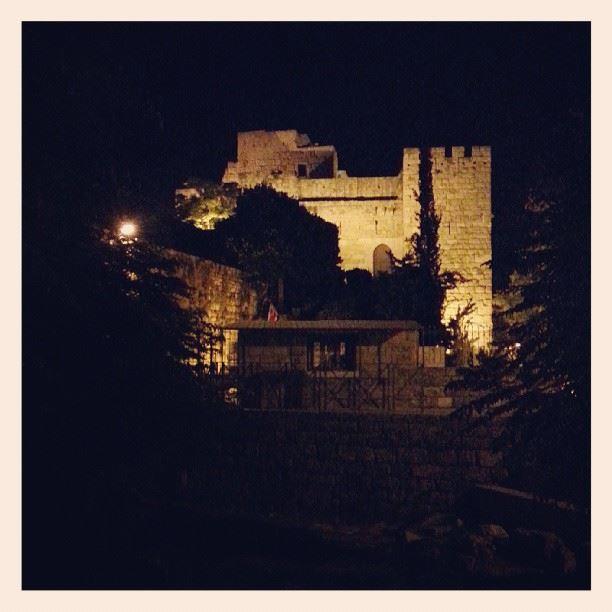 byblos jbeil lebanon lights castle fortress ...