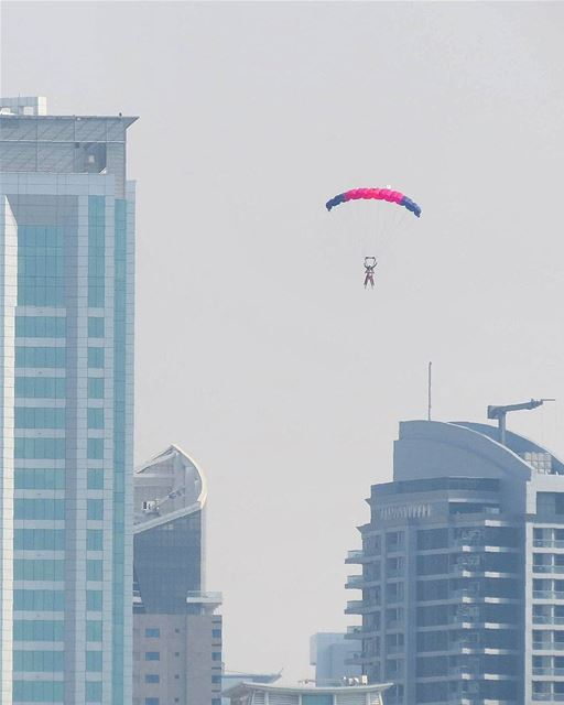 ... When elevators are out of service 😆😀------.. photography ... (Skydive Dubai)