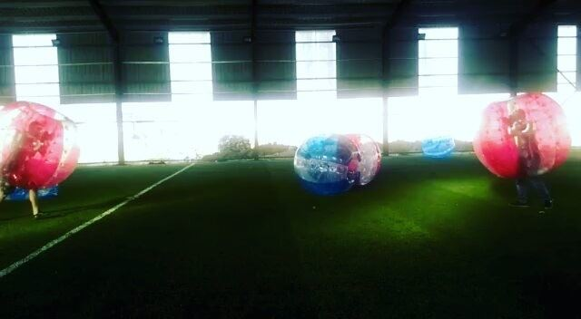 ACT CRAZY AND HAVE MORE FUN. 😂😂😂Bubble Combat inflatablebubble ...