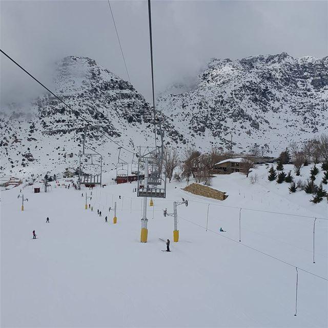 dayoff lebanon ski snow laqlouq skilift...