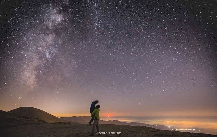 Higher✨👆🏼... mylebanon georgesboutrosphotography milkyway ...