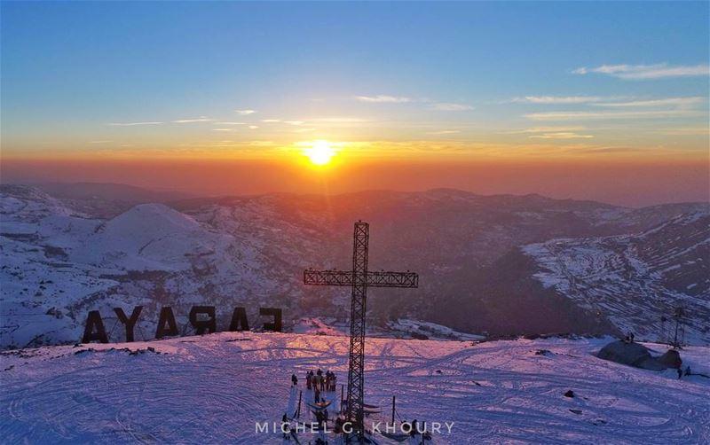 صوم مبارك... ❤ 🙏 AboveLebanon Lebanon LiveLoveBeirut flybeirut DJI ... (Faraya, Mont-Liban, Lebanon)