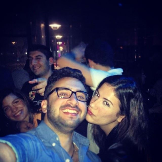 barty party last night love that girl out milagro jbeil...