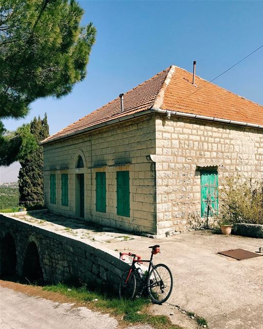Ride into the past.. lebanon instagood tradional house mountains ...