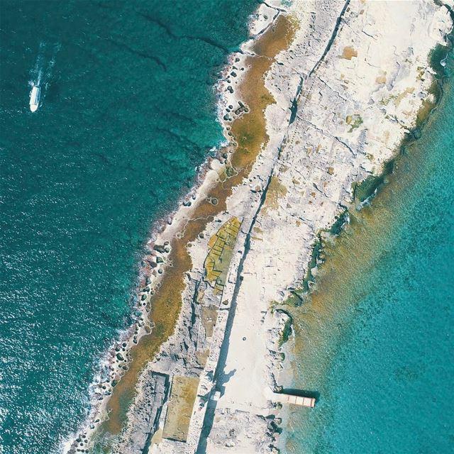 The beauty from above; El Zire Island Saida nogarlicnoonions moments ... (Ez Zîré)