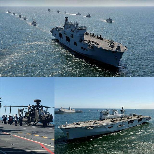 Her Majesty's Ship HMSOcean, fleet flagship of RoyalNavy & largest...