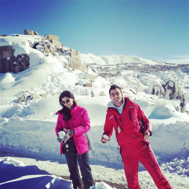 faraya snow lebanon jean ливан снег горы фарайа каникулы (Faraya)