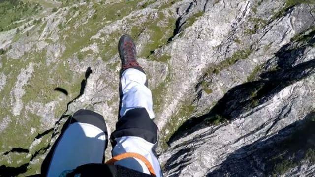 Miniwinging 😎🤘 livelovebeirut paraglidinglife paragliding ... (Aiguille Grive - 2732 Mètres)