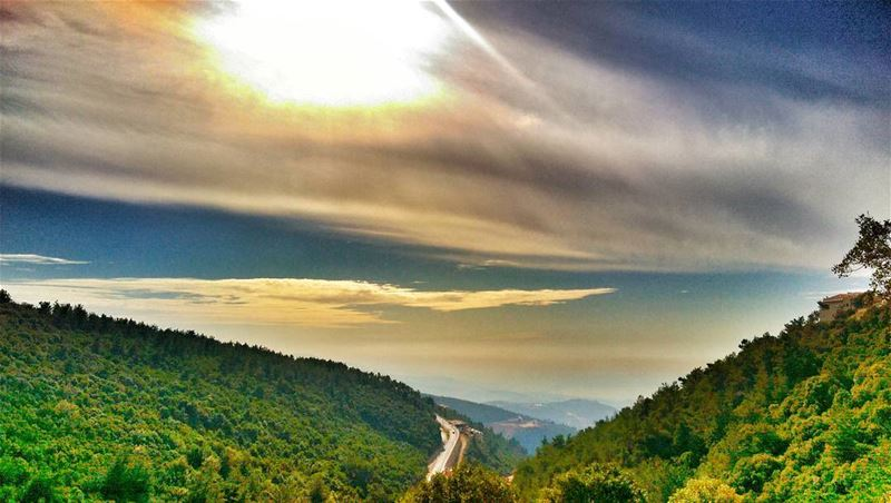 I believe in God, only I spell it Nature. Iebanon naturelover nature ... (Daroun Harissa)