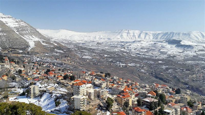 Today's view from Saydet El Hossn, Ehden  Ehden  Ehdeniyat  LiveLoveEhden... (Ehden, Lebanon)