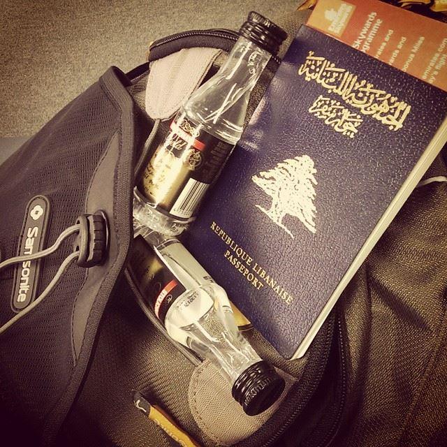 Destination unknown stoligold stoli stolileb vodka lebanon ... (Beirut International Airport Departure)