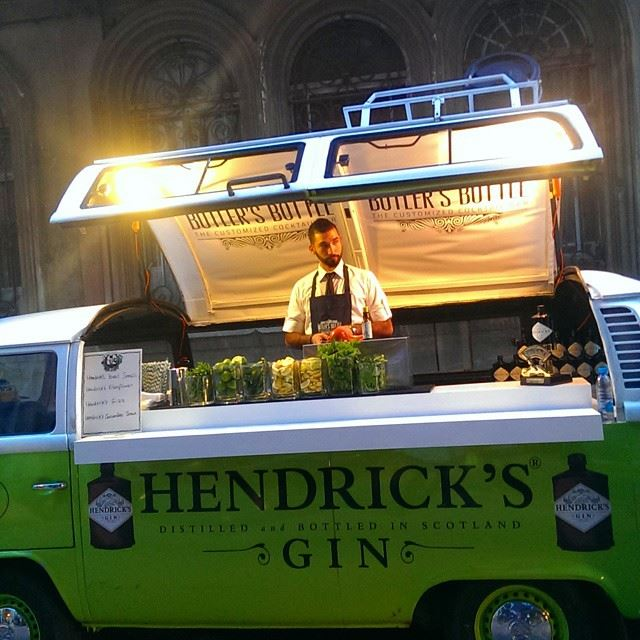 hendricks  gin  gintonic  cocktail  bar  tonic  cocktails  ginandtonic ... (The Food Dealer)