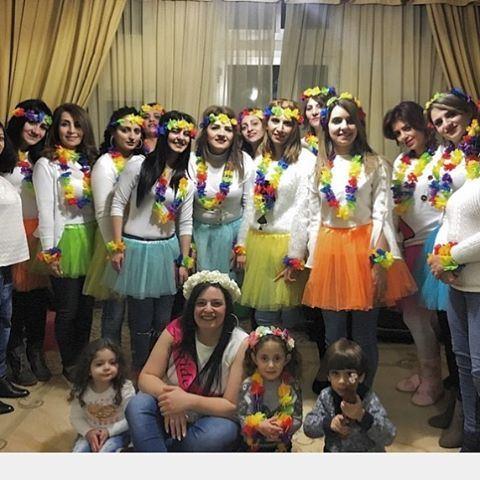 Happy girls are the prettiest 🎀👛 Bachelorparty celebration girls ... (Ein Zebde)