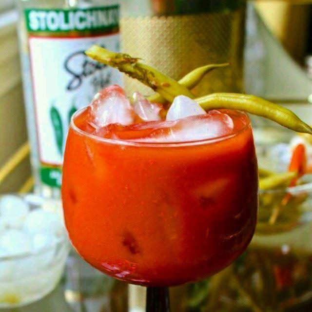 start your day off with bloody Mary Stoli stolileb stolihot jalapeño ...