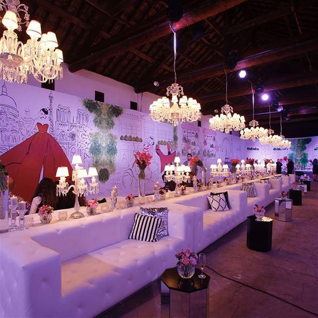 SWIPE Left 📸From @sandymkh Blog Launch!Event Planner: @eyecandy_events... (La Magnanerie Beirut)