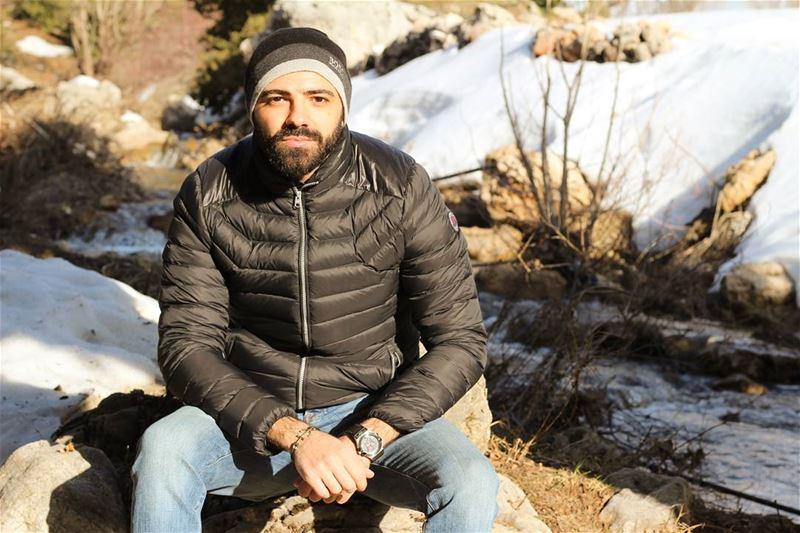 snow winter Lebanon cold beard fitness beardedmen men ...