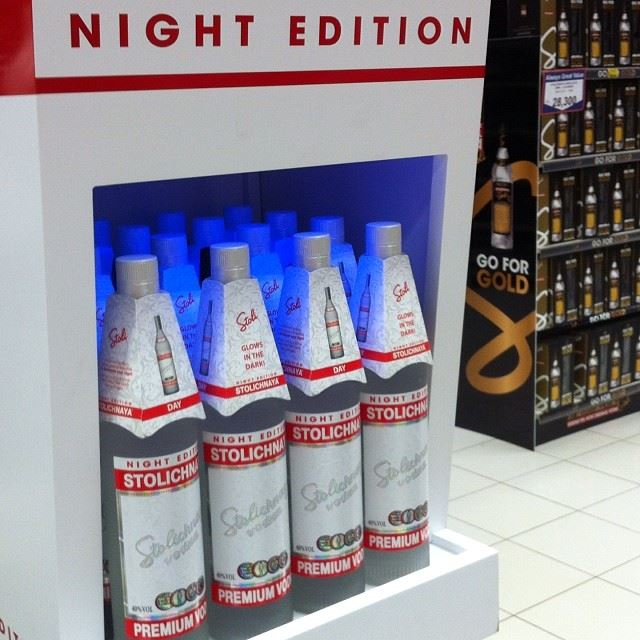 stoli night edition with gold vodka tsc dora lebanon russian ...