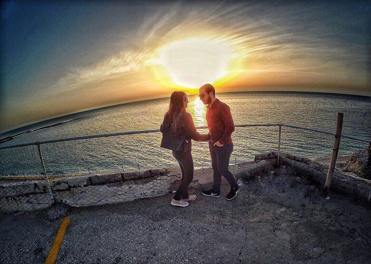 Enjoy the beauty of a sunset 🌅 livelovenature livelovelebanon ... (Byblos - Jbeil)