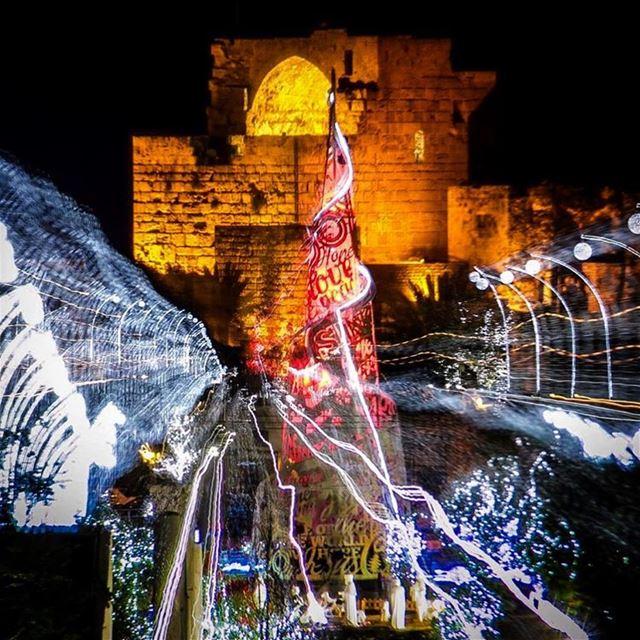 This ChristmasTree is still my favorite Byblos Jbeil Tree Christmas ... (Byblos - Jbail بيبلوس/جبيل)