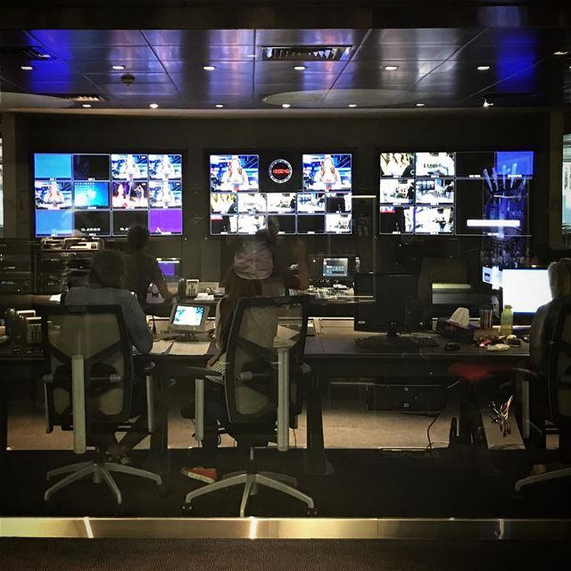TV ControlRoom MTV Lebanon ... (Mtv- StudioVision - Naccache)