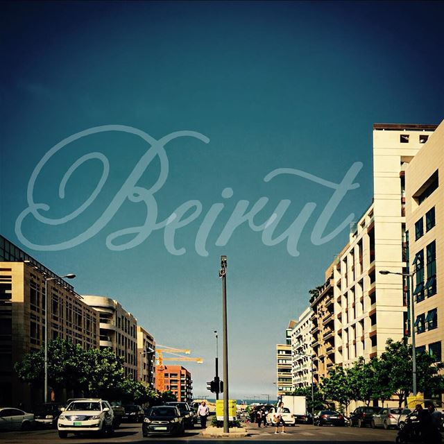 GoodMorning Beirut livelovebeirut nationalart beautifullebanon ... (DownTown, Beirut)