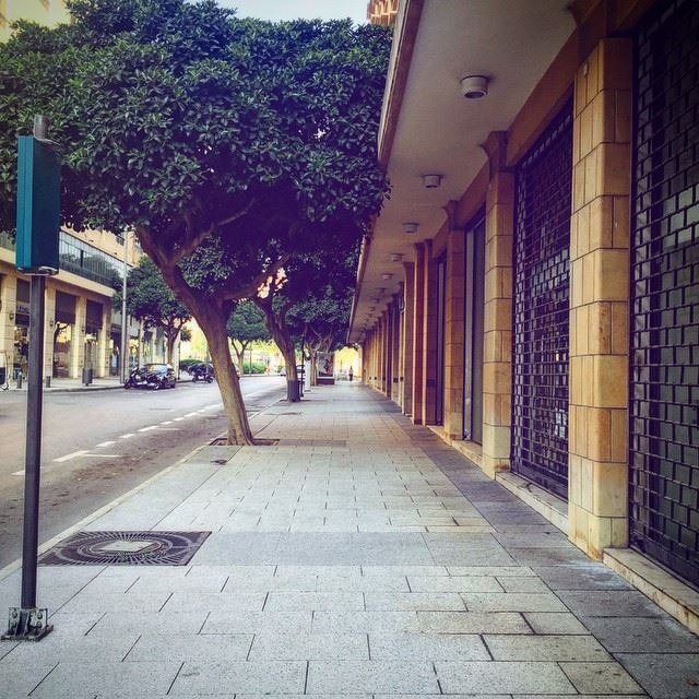 TooEarlyToStartYourDay Morning Lebanon Beirut Sidewalk Path ... (Consolidated Consultants Lebanon)