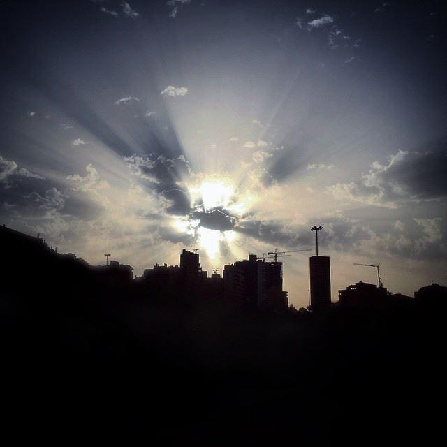BigBang Sunset Beirut Lebanon landscape LiveLoveLebanon ... (Downtown)