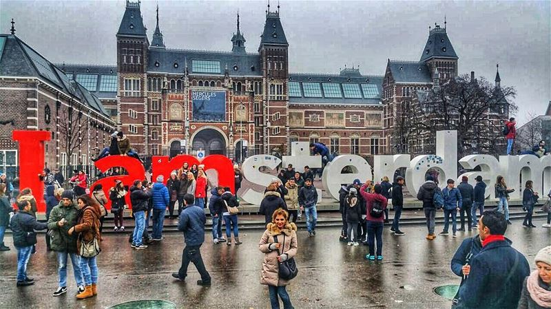 I ❤️Amsterdam 🇳🇱 amsterdam liveloveamsterdam rijksmuseum holland ... (Rijksmuseum)