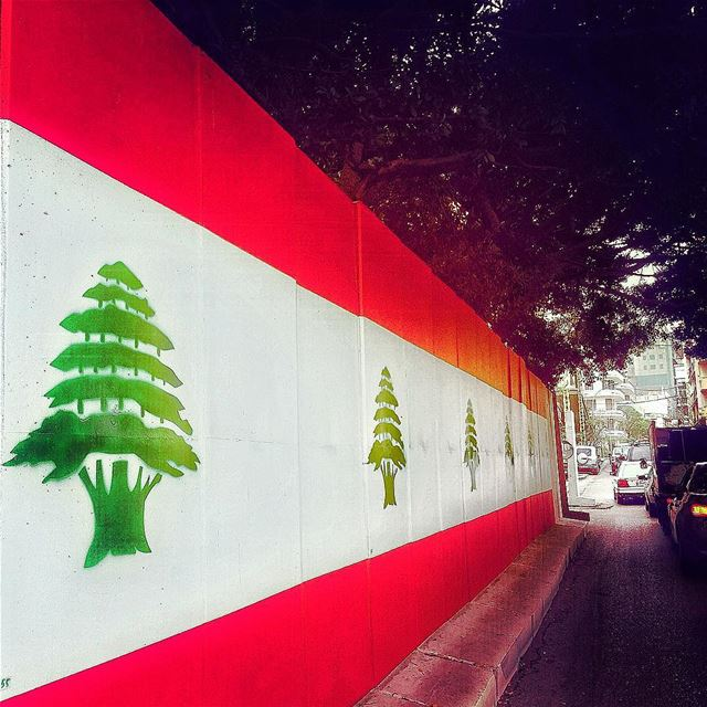 Happy Independence Day 🇱🇧 lebanon livelovelebanon ... (Hamra - حمراء)