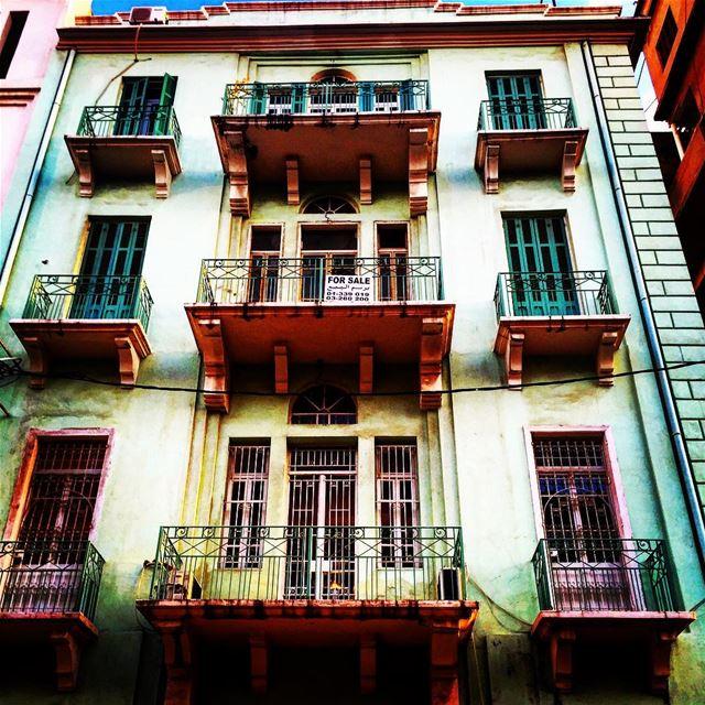 Beirut Architecture 💚 ... (Gemmayze)