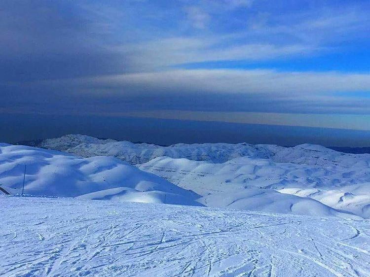 Aqnd here we go again faraya farayalovers lebanon lebanonlovers ... (Mzaar Ski Resort)