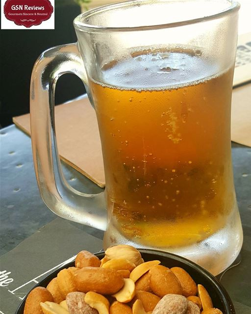 The perfect lebanese afternoon beer nut gsnreviews foodstagram ... (Beirut, Lebanon)