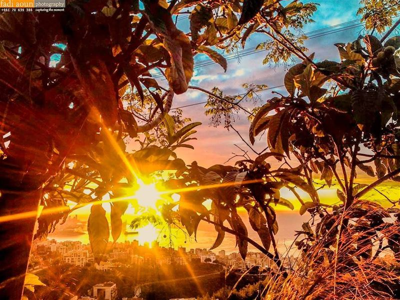 photo fadiaounphotography sunset lebanon sky nature photoshooting ...
