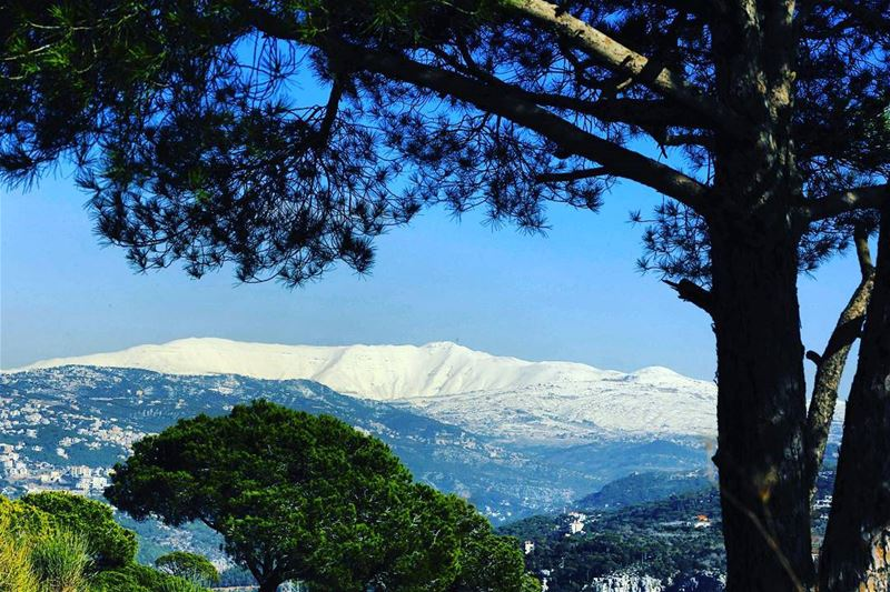 Sanine mountain from Beit mery - Lebanon by @afpphoto 🗻🇱🇧 🌲 lebanon ...