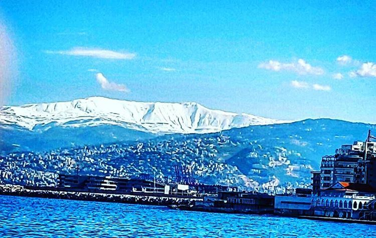 Sanine mountain from Beirut by mom @amiraalameddine 🏔🇱🇧 lebanon ...