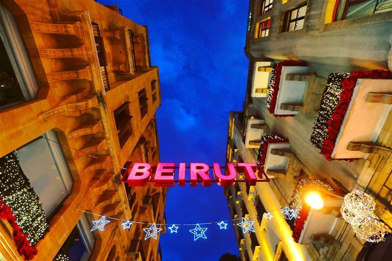 Beirut is one of the best places to celebrate Christmas (by @reuters 🎄 🇱�