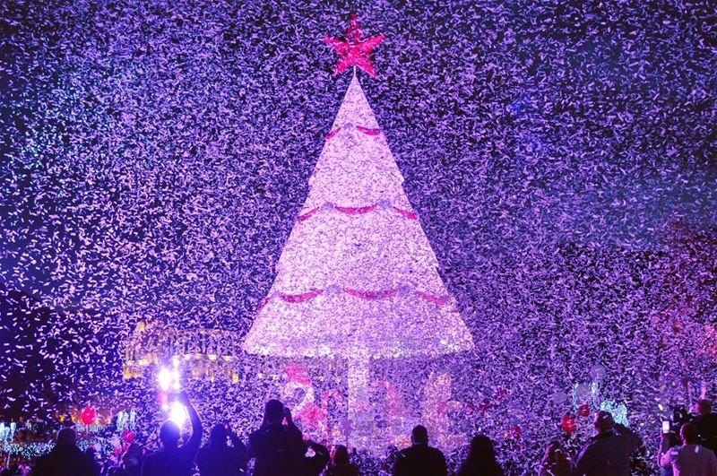 Christmas mode on in zgharta- Lebanon north by reuters🎄 🇱🇧 lebanon ...