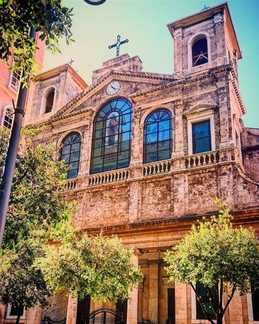 St George Maronite Cathedral- Beirut ⛪🇱🇧 lebanon lebanese beirut ...
