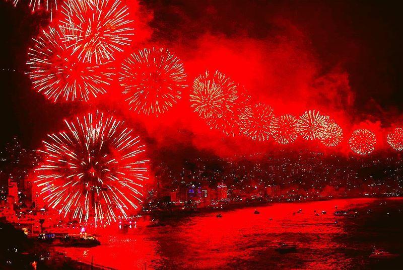 Jounieh fireworks festival by AFP🎆 🇱🇧 lebanon lebanese festival ...