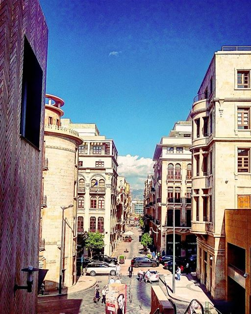 Down town from Beirut souks. Gd morning 🤗😊 lebanon lebanese beirut ...