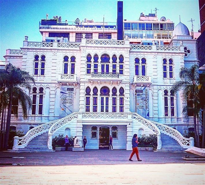 Sursock palace... An essential Part of our history and glory 🏯🏰 lebanon... (Sursock Museum)