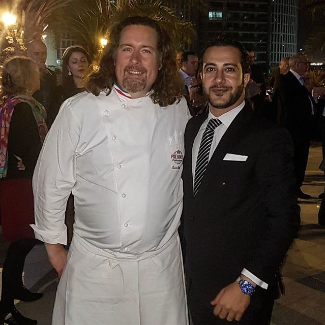 The master of cheese @cheesegourou master cheese dinner chef good ... (Sofitel Dubai Downtown)