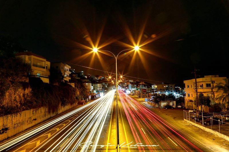 Keep your eyes on the road. sergio_koliana_photography meetlebanon ... (Okaybe)