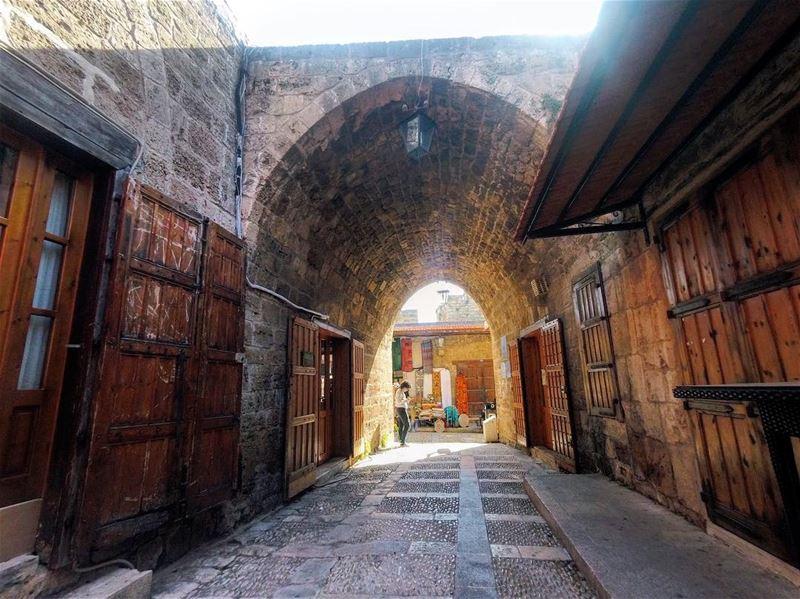 Jbeil Old Souks ... 🇱🇧 lebanon lebanon_hdr jbeil byblos souks ... (Old Souk- Jbeil)