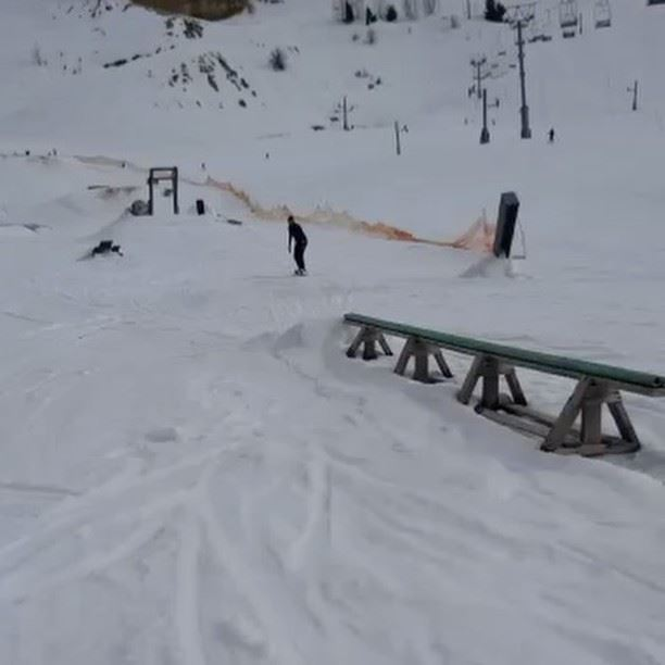 Ticks 101 snowboarding tricks jump snow wintersports vacation ... (El Laqloûq, Mont-Liban, Lebanon)