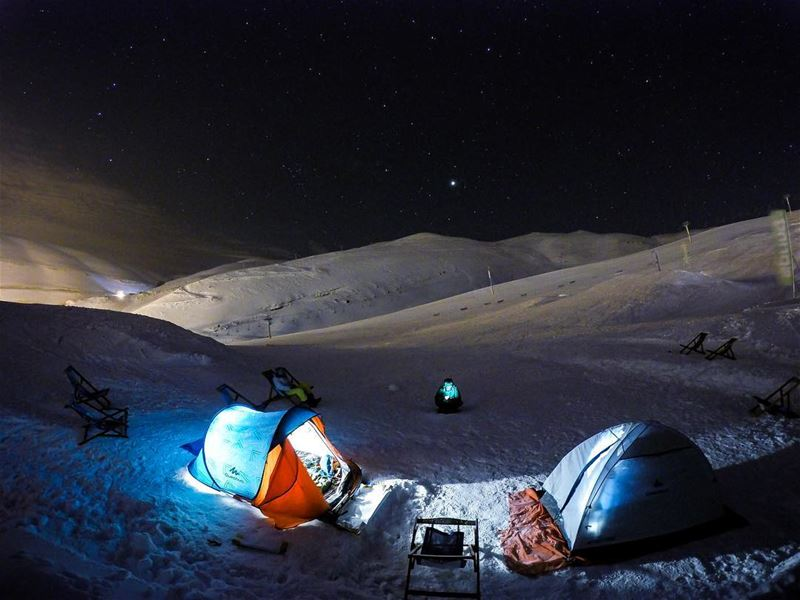 Every accomplishment starts with the decision to try!⛺️It was one hell of... (Faraya Cross)