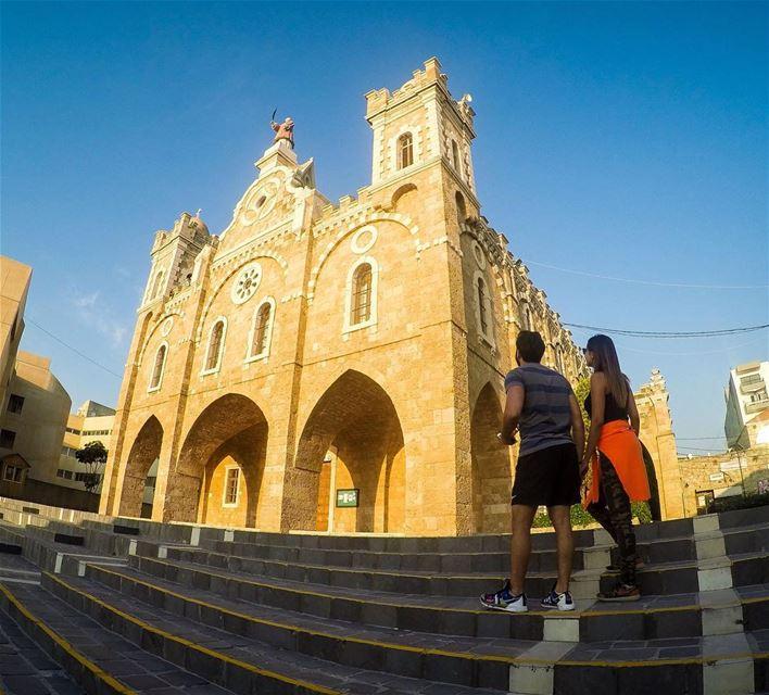 Church is who we are, Not where we go. ⛪️With my dear friends @chriskabala (Batroun Saint Stephano)