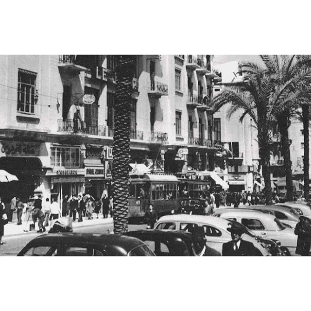 Beirut Martyrs Square In 1951 ,