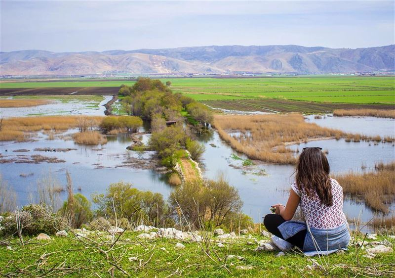 Nature is not a place to visit, it is Home so as Bekaa ! 🍃... (`Ammiq, Béqaa, Lebanon)