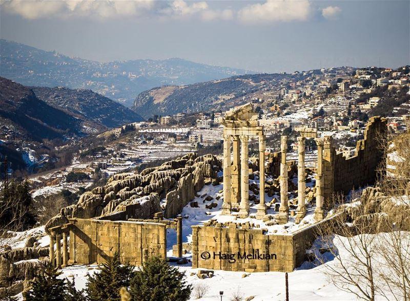 The Roman Byzantine church of Kfardebian ⛩ Lebanon whatsuplebanon ... (Kfardebian)
